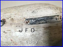 1940s R Madison Mitchell Canvasback Drake Duck Decoy Branded Havre de Grace Md