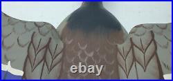 1984 Stoney Point Decoys Raymond Hornick Flying Mallard Drake Duck Decoy 22