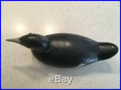 Antique Decoy, Mason Coot/Mudhen Great condition, no chips, old repaint