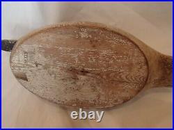 Antique Evans hen canvasback