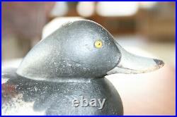 Antique Low Head Mason Challenge Grade Mason Bluebill Duck Decoy