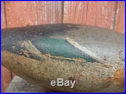 Antique Mason Standard Grade Glasseye Drake Pintail Decoy Original Paint Estate