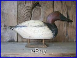 Antique-Vintage-Factory-Mason-Mallard-Wooden duck decoy