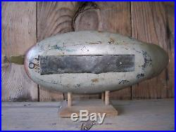 Antique-Vintage-Factory-Mason-Old mallard-Wooden Duck Decoy