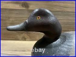 Antique Vintage Wood Duck Decoy MASON Redhead Drake