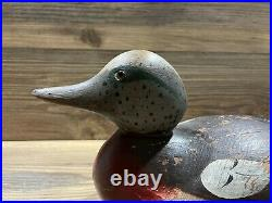 Antique Vintage Wood Duck Decoy MASON Wigeon Drake