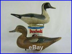 Antique Wood Duck Decoy Madision Mitchell Pintail Pair Maryland Goose Shorebird