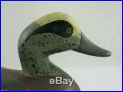 Antique Wood Duck Decoy Madision Mitchell Widgeon Maryland Goose Shorebird
