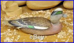 Armand Carney (D-2008) Absecon N. J. Wigeon Drake Decoy