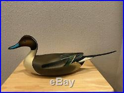 Awesome Pair of Pintail duck decoys by Jode Hillman