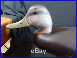 Barnegat Bay Black Duck Decoy by Hurley Conklin Manahawkin, New Jersey