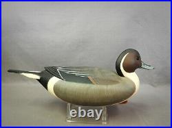 Beautiful Pintail Duck Hollow Decoy by Frederick Rick Brown Pt. Pleasant NJ