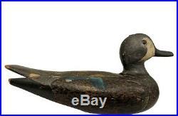 Blue-winged Teal Drake Decoy Jewelry Box William Bennett