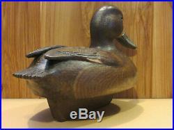 Bluebill Hen Working Duck Decoy Original Paint Hand Carved by Danny Lee Heuer