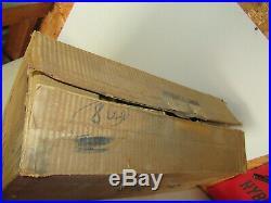 Box of 6 Victor Magnum Paper Mache vintage Mallard Duck decoys in box