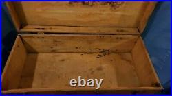 CANVAS DECOY COMPANY Wood Box UNION CITY TENNESSEE VINTAGE GOOSE DECOYS