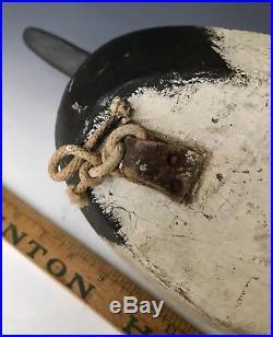 C. 1920 Antique Working Duck Decoy Tack Eye Canvasback Drake, Chesapeake Bay, MD