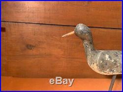 Ca 1880-1910 Shorebird Decoy Cape May, New Jersey