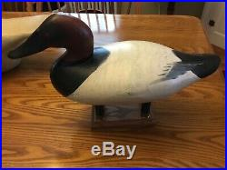 Canvasback Decoy By Madison Mitchell Havre de Grace, Md. S/D 1957
