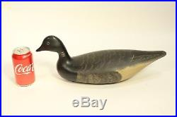 Charles Birdsall Wildfowler Carved Hollow Pine Wood Duck Decoy Sculpture Signed