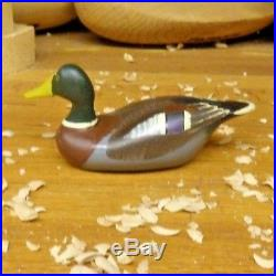 Clarence TiT Bird Bauer Miniature Mallard Pair Signed