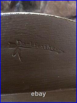 Darkfeather Freedman Canvasback Duck Decoy In The Style Of Ben Schmidt