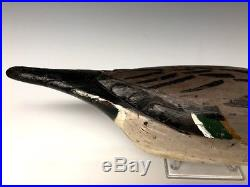 Dick Janson Fresh-Air Dick Pintail Duck Hunting Decoy Decoys Wood Antique Old