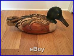 Ducks Unlimited Duck Decoy By Tom Taber