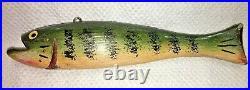 Duluth Fish Decoys, DFD, David Perkins 10 Perch Spearing Decoy