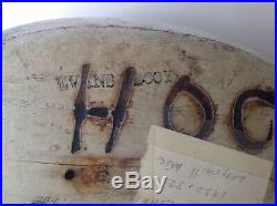 EVANS Vintage Duck Decoy Magnum size Bluebill Original Hand paint withglass eyes