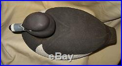 Ernie Mills Hand Carved Painted Ring-necked Wooden Decoy