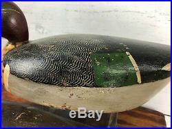 Excellent Rare Torry Ward GW Teal Duck Decoy Pair Toronto JR Wells Style Hollow