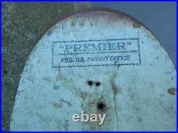 Exceptional Mason Premier (stamped) Drake Mallard Decoy Super Original Paint