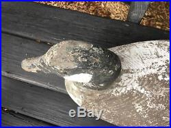 Fabulous Rare Goose Decoy Attributed to Joseph Lincoln
