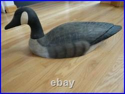 Fine Herters 1893 Series Store Display Large Goose Painted Wooden Decoy Duck