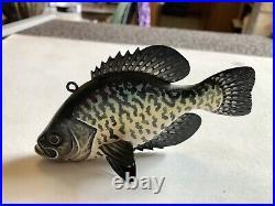 Fish Spearing Decoy By Jake Sazama