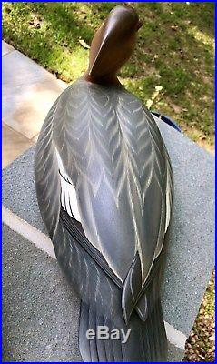 GEORGE STRUNK Merganser decoys Cross wing oversized New Jersey