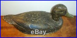 George (Chic) Poyton Black Duck Decoy Hamilton, Ontario NO RESERVE