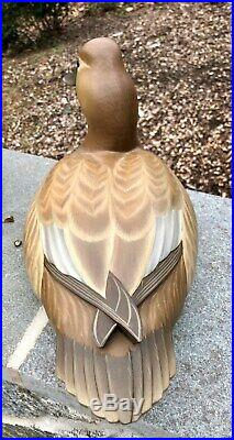 George Strunk Canvasback Decoy New Jersey Cross Wing Very Rare 2008