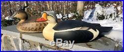 George Strunk King Eider Decoy New Jersey Cross Wing Very Rare 2008