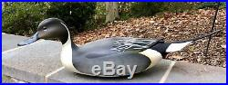 George Strunk Pintails Decoy New Jersey Cross Wing
