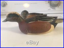 Grayson Chesser Widgeon Pair Mini Duck Decoy