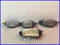 Group Of 4 Old Working Duck Decoys