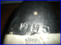HARRY V SHOURDS NEW JERSEY Antique Bluebill Drake Wooden Duck Scaup Decoy