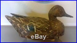 Harold Pappy Kidwell California Pintail Hen Duck Decoy