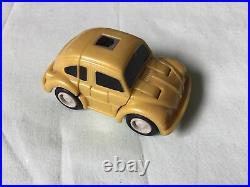 Hasbro TRANSFORMERS G1 Goldbug & Shockwave Decoy Vintage RARE Read Description