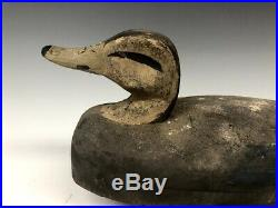 Hollow Original Antique Duck Hunting Decoy Decoys New Jersey Bill Beardsley Old