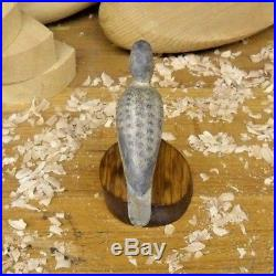 Hurley Conklin (1913-1993) Manahawkin N. J. Yellowlegs Shore Bird Decoy