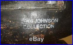 Ira Hudson Black Duck Decoy Orig Re-Paint By Norman Hudson Chincoteague VA NC NJ