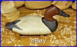 J. Evans McKinney Elkton Maryland (1913-2000) Canvasback Drake